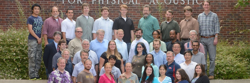 Group photo of NCPA researchers